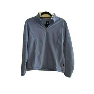 "KUHL Blue ""Micro Chamois"" Fleece 1/4 Zip Jackets"
